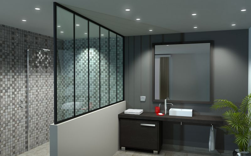 charming paroi de douche sur mesure 6 max min. Black Bedroom Furniture Sets. Home Design Ideas